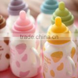 creative lovely cartoon candy color kids gift milk bottle style 380 ml ceramic tea coffeee mug