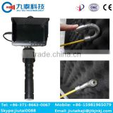 GT-21D industry telescopic pole video pipe inspection endoscope camera|industrial pipe inspection camera