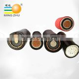 XLPE/PE/PVC insulated XLPE/PE/PVC sheathed steel wire armoured or non-armoured cable, 10KV power cable price