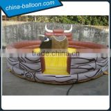 Good quality inflatable rodeo bull game / inflatable spanish bull ride for kids and adult                                                                                                         Supplier's Choice