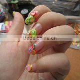 Nail Art Stickers Canes Stickers Rod Fimo Decorate Fruit And Flower Cutted