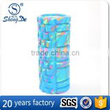 Extra Durable PVC/ABS Tube Pink Foam Roller, High-Density Foam Roller