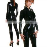 latex catsuit for women fashion catsuit 100% handmade natural latex catsuit/zentai catsuit for women