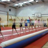 inflatable air tumbling track for gym Type and PVC Material inflatable air tumbling track for gym