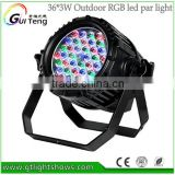 stock sale High Power Waterproof 36*3W RGB LED Par Can,Outdoor Stage led Par Light