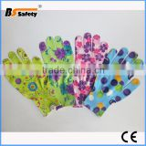BSSAFETY design and colour general use garden glove for kids women