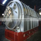 Waste tire pyrolysis recycling plant (from waste tire to crude fuel oil or diesel)