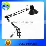 China plastic lamps adjustable clip plastic lamp holder clip plastic clamp for desk lamp
