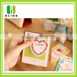 Customized shape self stick notes with logo for promotion office gift magnetic sticky notes