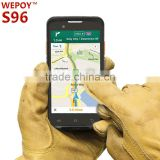 Android OS handheld barcode scanner 1D 2D GSM phone call function