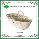 Baby undressed moses basket with handles