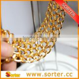 Aluminum chain for bags chain