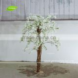 GNW BLS161024 White Big Cherry Blossom Tree Wedding Decoration Tree With Fiberglass Trunk