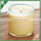 Colorful scented candles Decoration customized 100% natural soy wax scented candle in glass jar