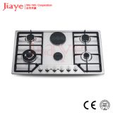 Jiaye Group built in portable electric hobs/ 4 Sabaf burners and 2 hotplate JY-ES6001