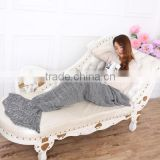 Wholesale Mermaid tail,Adult Knitted Mermaid Tail Blanket