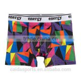 diamonding colorful design for 95%cotton5%spandex boy AOP boxer briefs cool printing