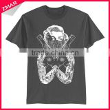 Custom men's new style clothing wholesale drop ship organic cotton t-shirt
