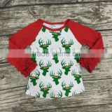 baby girls clothesHoliday raglan tops tops halloween ghost Christmas raglan girls Autumn top girls icing raglans tshirt