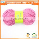 New fashion yarn from China knitting yarn factory direct wholesale acrylic roving yarn for hand knitting