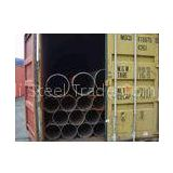 Custom Made 6 - 24m Length ERW Steel Pipes, Welded Round Pipes For Steam, Water, Gas, Air Line