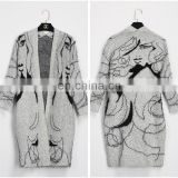 Autumn Winter Long Sleeve Women Long Cardigans Wholesale