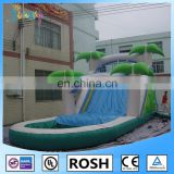 SUNWAY Commercial adult inflatable water slide with pool big water slides for sale