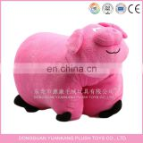 Lovely pig animal shape pillow& plush pig pillow
