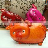 2013 Genuine leather multi-function animal leather coin purse