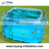 0.9mm PVC Tarpaulin Inflatable Swimming Pools for kids bathing