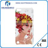 3d sublimation mobile phone cover for itouch 5