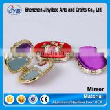 wholesale souvenir wedding favors compact mirror with antique style