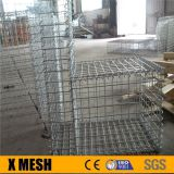 Superior heavily duty galvanized diy gabion fences for Beach Bed