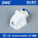 Industrial socket 16A3P stationary, AC220V 16A 2P+PE industrial socket surface mount