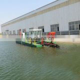 Small size hydraulic cutter suction dredger