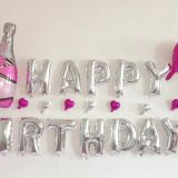 birthday balloon set foil balloon helium balloon mylar balloon party balloon beer bottle balloon