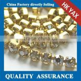 jw0525 High Quality cup chain strass;China Roll DMC Chain;Wholesale cup chain strass