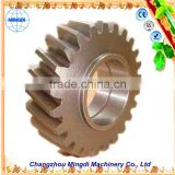 Changzhou Machinery tractor trucks used Helical bevel Gear / Herringbone Gear Assembly Transmission Parts for towing truck