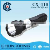 High power super bright CREE led aluminum flashlight