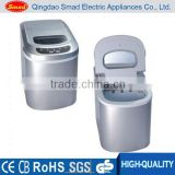 silver color ice maker mini ice cube maker with CE/UL/ETL/GS approved
