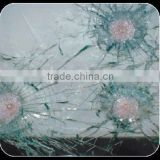 safety bulletproof laminated glass/bullet resistant glass