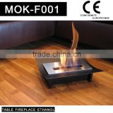 China table fireplace ethanol