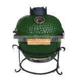 13inch mini green kamado grill for resturant