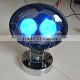 8W work lamp with the remote control function rechargeable warning led light led work light