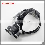 Waterproof Q5 LED 3200Lm Power Bicycle Light Rechargeable BatteryCamping Headlamp Headlight