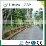 High quality decorative easily assembled WPC fence wood plastic composite Garden fence panel