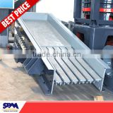 SBM high quality and low price vibratory feeder used in stone crushing plant