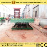 Forklift Steel Mobile Loading Dock Ramp hydraulic ramp to unload container/multi-use dock ramp/container leveler