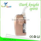 Portable Dark Knight Spirit Pipes Smoking Wax Vape Vaporizer With Water Filtration Ceramic Vaporizer Wholesale