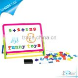 Educational Magnetic White Board Black Board Drawing Set for Kids
